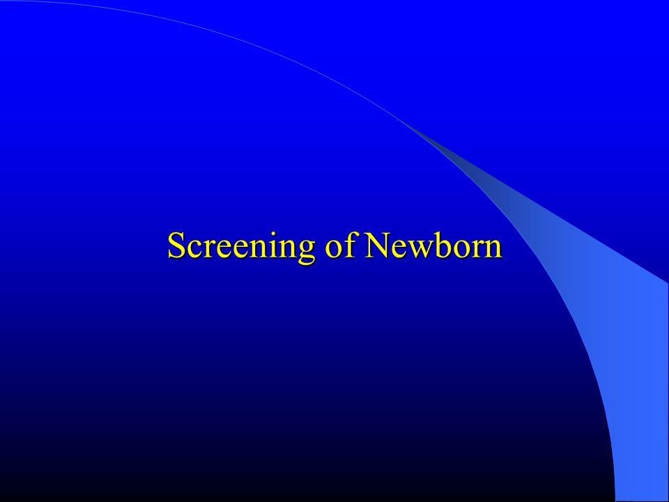 Newborn Screening Programs Phenylketonuria screening program, which has been implemented in 22 cities by support of the Turkish Republic ministery of health since 1987, was carried out by Istanbul University Faculty of Medicine, Hacettepe University Faculty of Medicine, Cumhuriyet University Faculty of Medicine, Dokuzeylül University Faculty of Medicine in 74 cities.