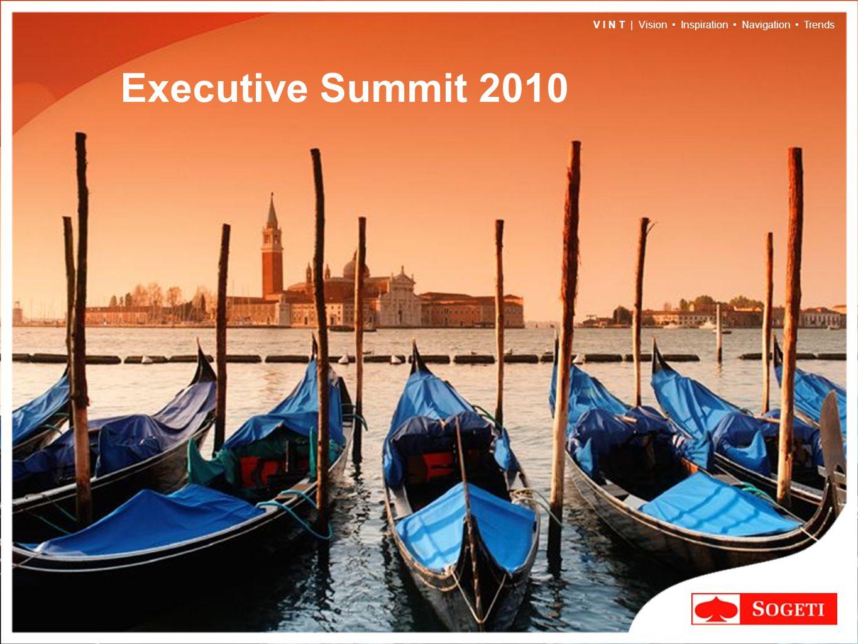 V I N T | Vision Inspiration Navigation Trends Executive Summit 2010