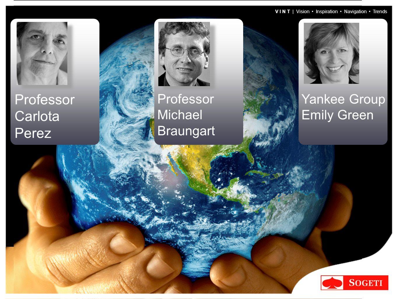 V I N T | Vision Inspiration Navigation Trends Professor Carlota Perez Yankee Group Emily Green Professor Michael Braungart