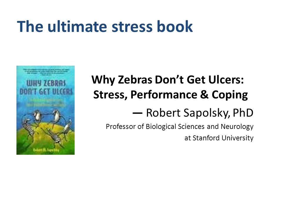 Why Zebras Don't Get Ulcers Julia King Tamang × LERN × TACE 2009 × jtamang@easystreet.net