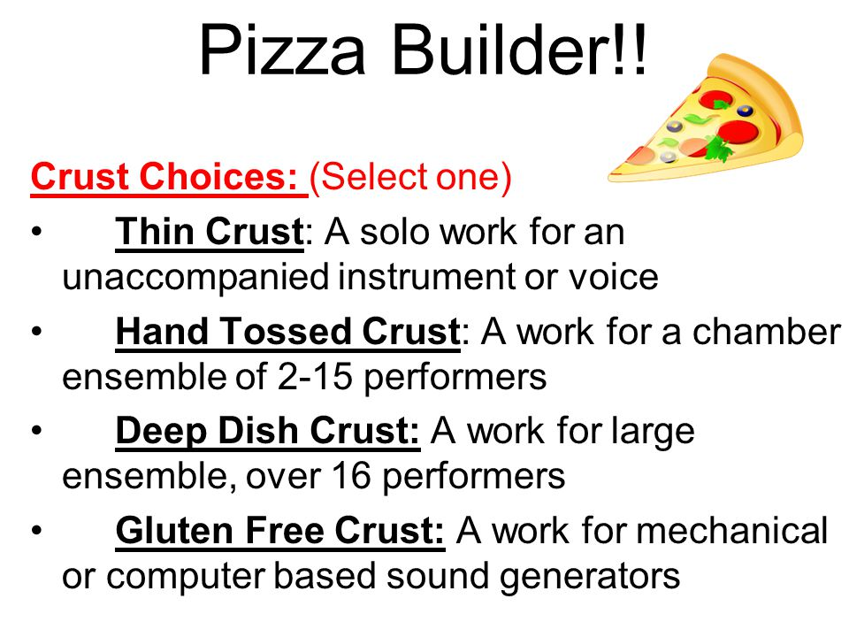 Pizza Builder!.
