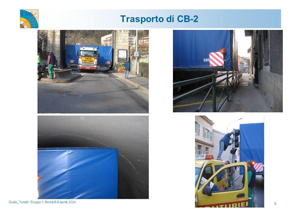 Guido_Tonelli / Gruppo 1/ Roma/5-6 Aprile 2004 3 Trasporto di CB-2