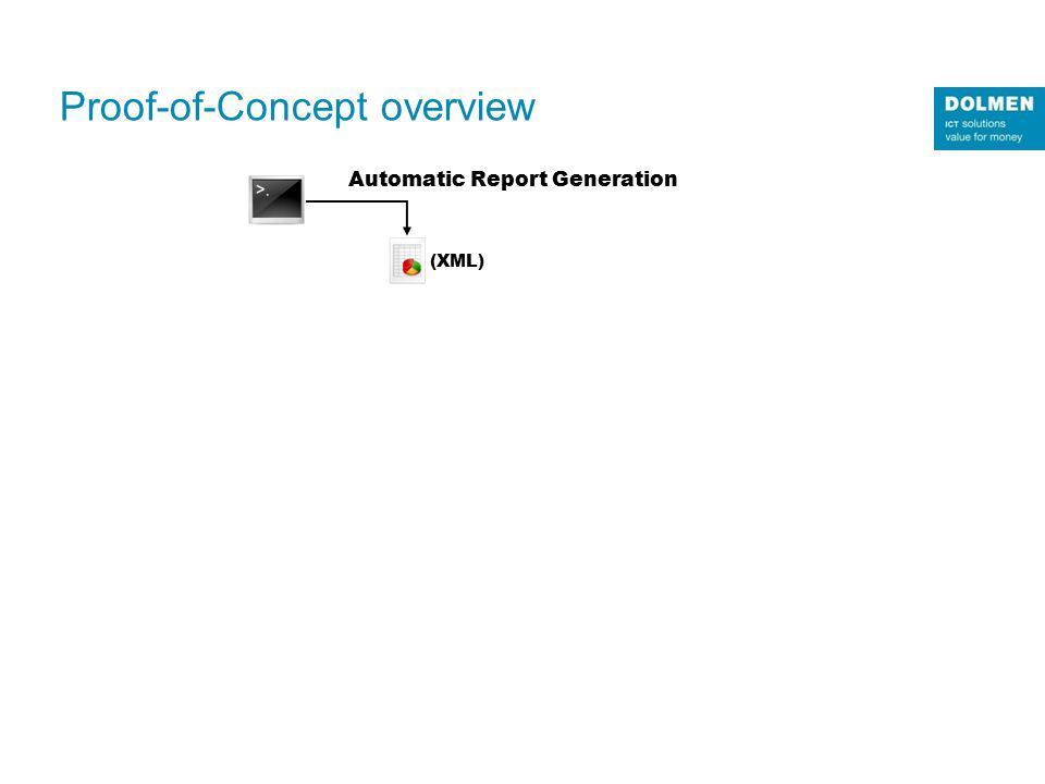 12/04/2015 ı18 Automatic Report Generation (XML) Proof-of-Concept overview