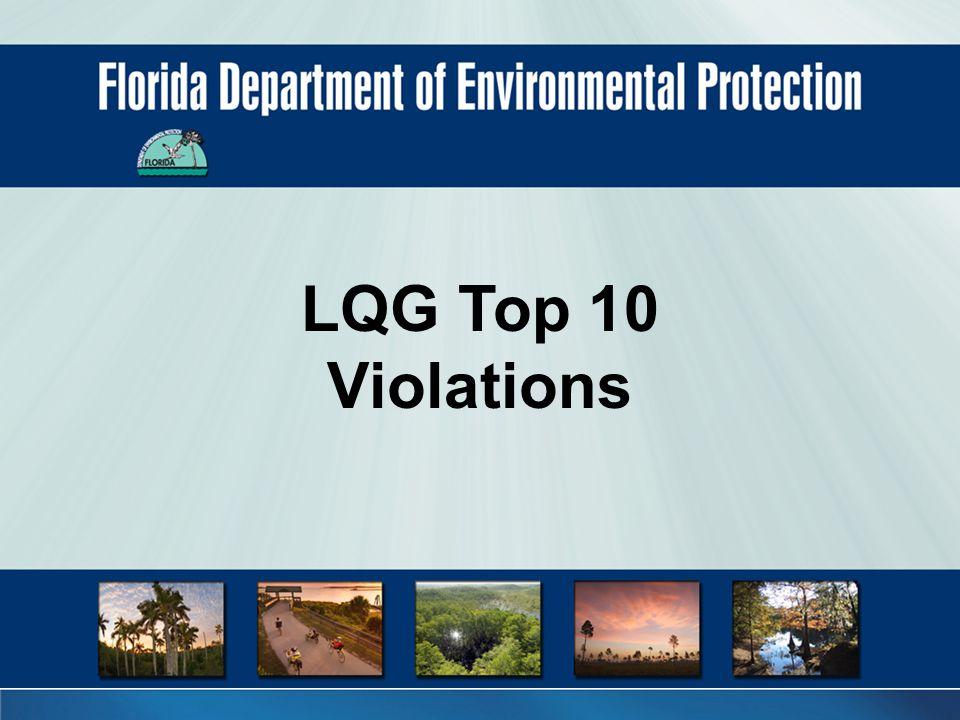 LQG Top 10 Violations