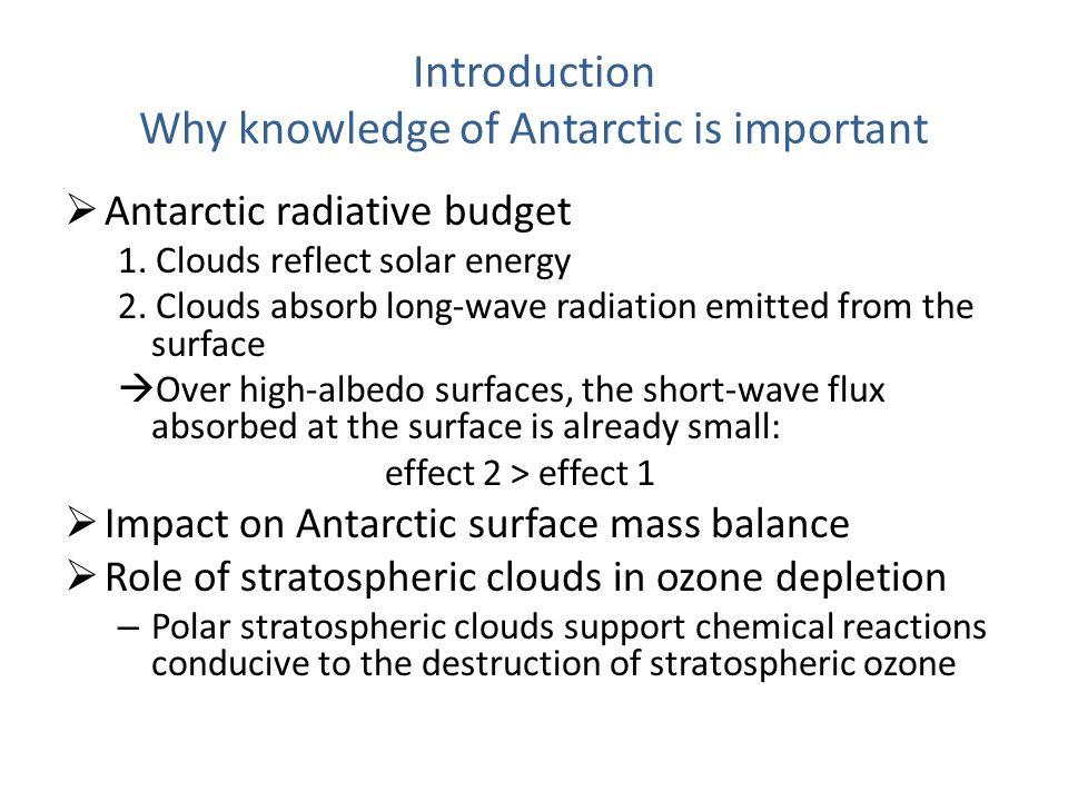 Observing Antarctic clouds