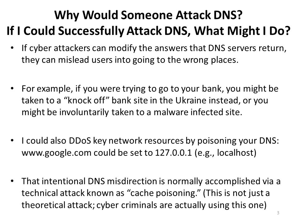 What's DNS Caching.DNS resolvers remember, or cache, the DNS information they receive.