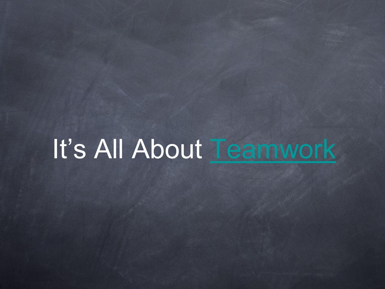 It's All About TeamworkTeamwork