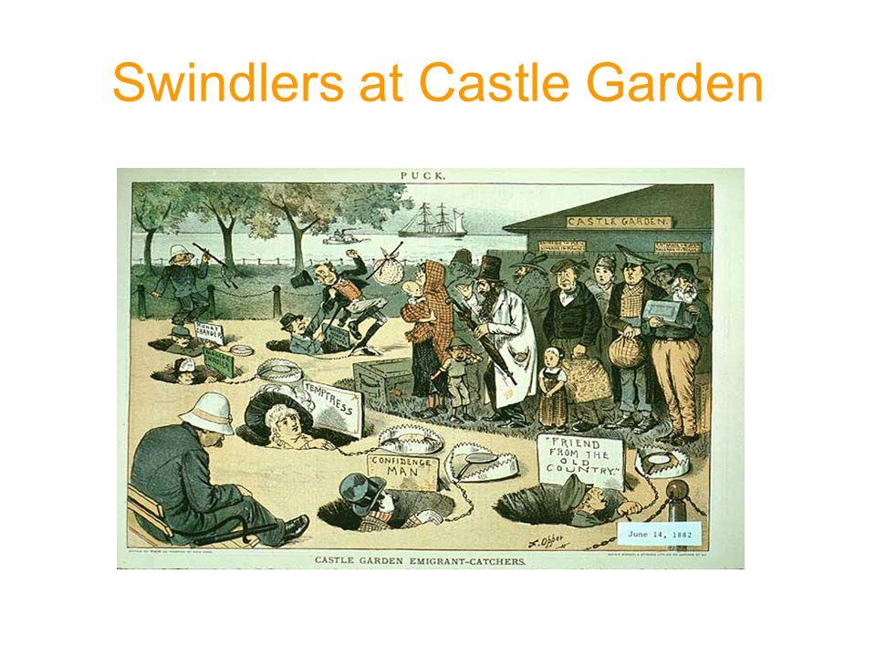 Swindlers at Castle Garden 1