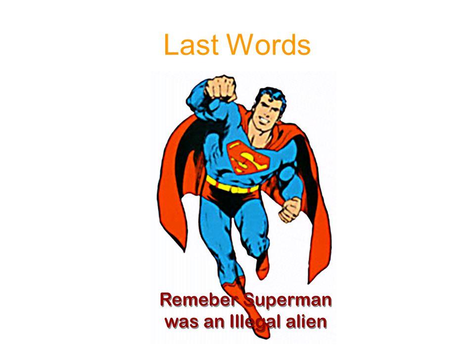 Last Words 1