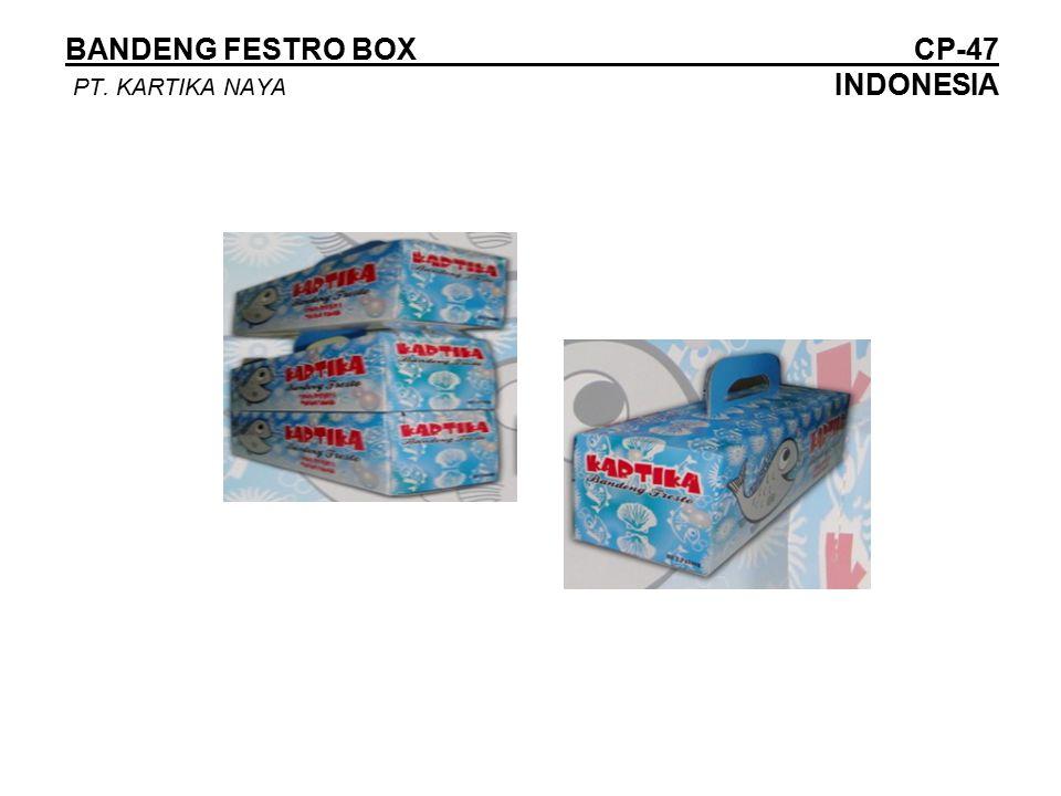 BANDENG FESTRO BOX CP-47 PT. KARTIKA NAYA INDONESIA
