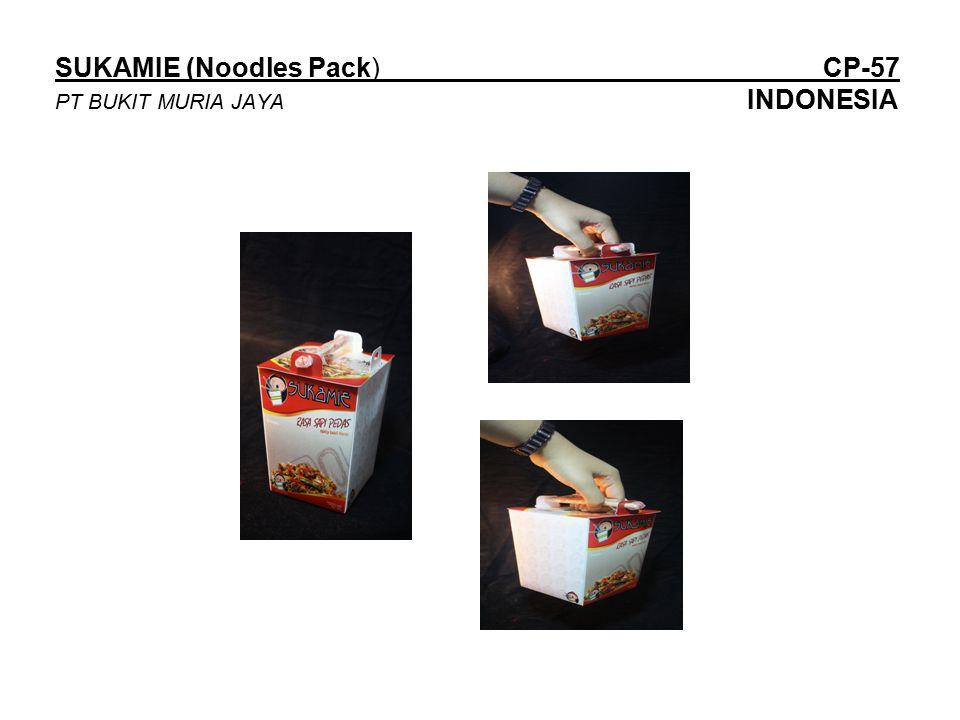 SUKAMIE (Noodles Pack) CP-57 PT BUKIT MURIA JAYA INDONESIA