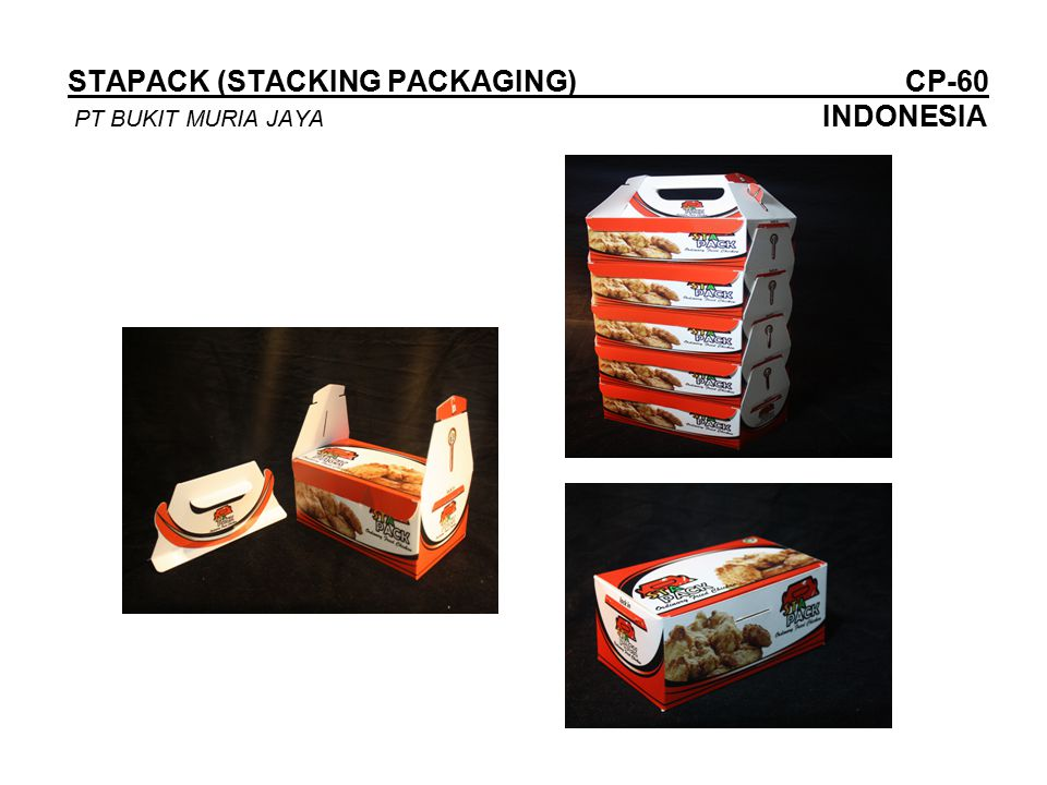 STAPACK (STACKING PACKAGING) CP-60 PT BUKIT MURIA JAYA INDONESIA