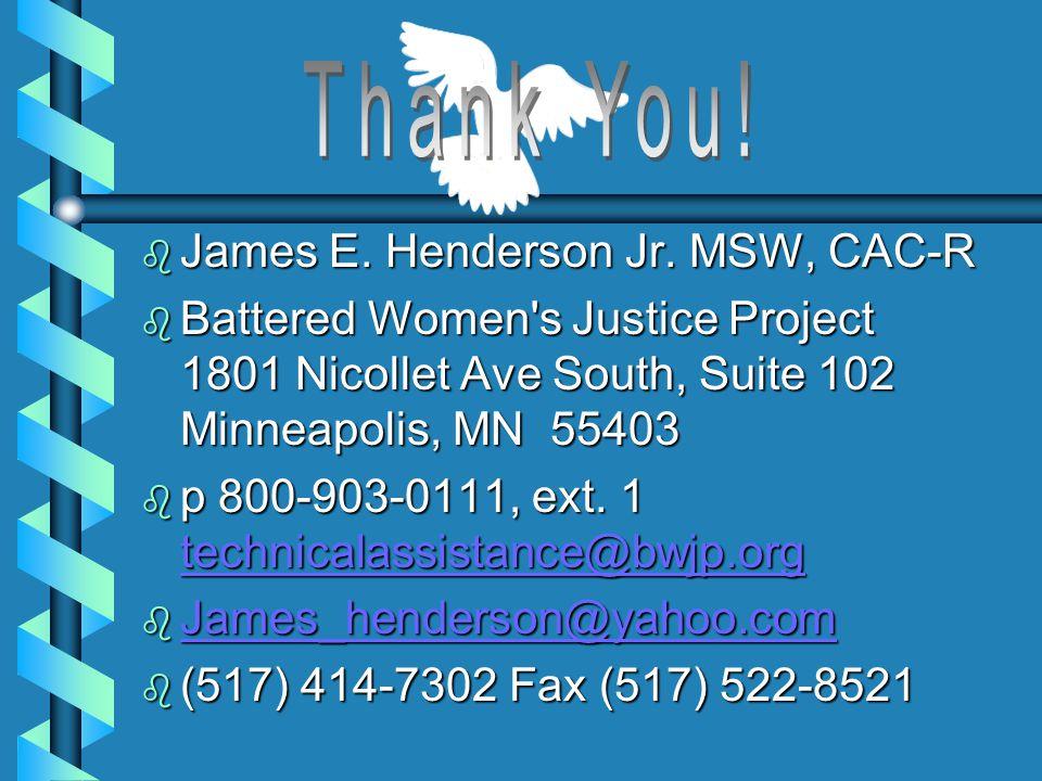 b James E. Henderson Jr.