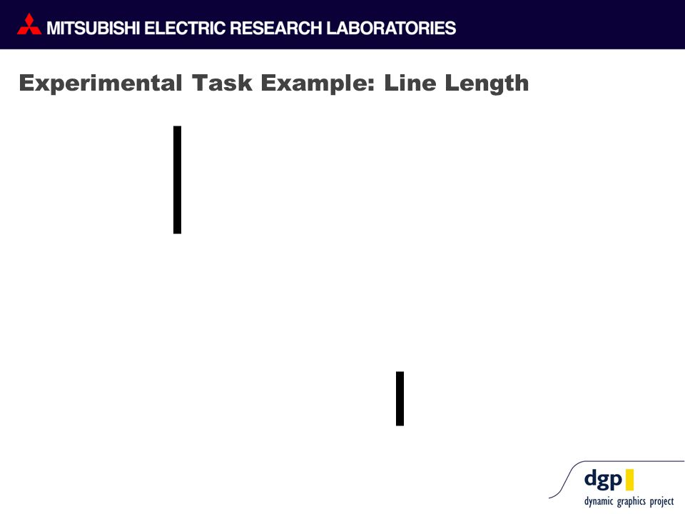 Experimental Task Example: Line Length