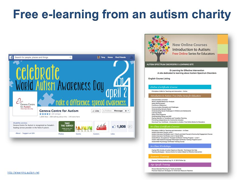 http://elearning.autism.net