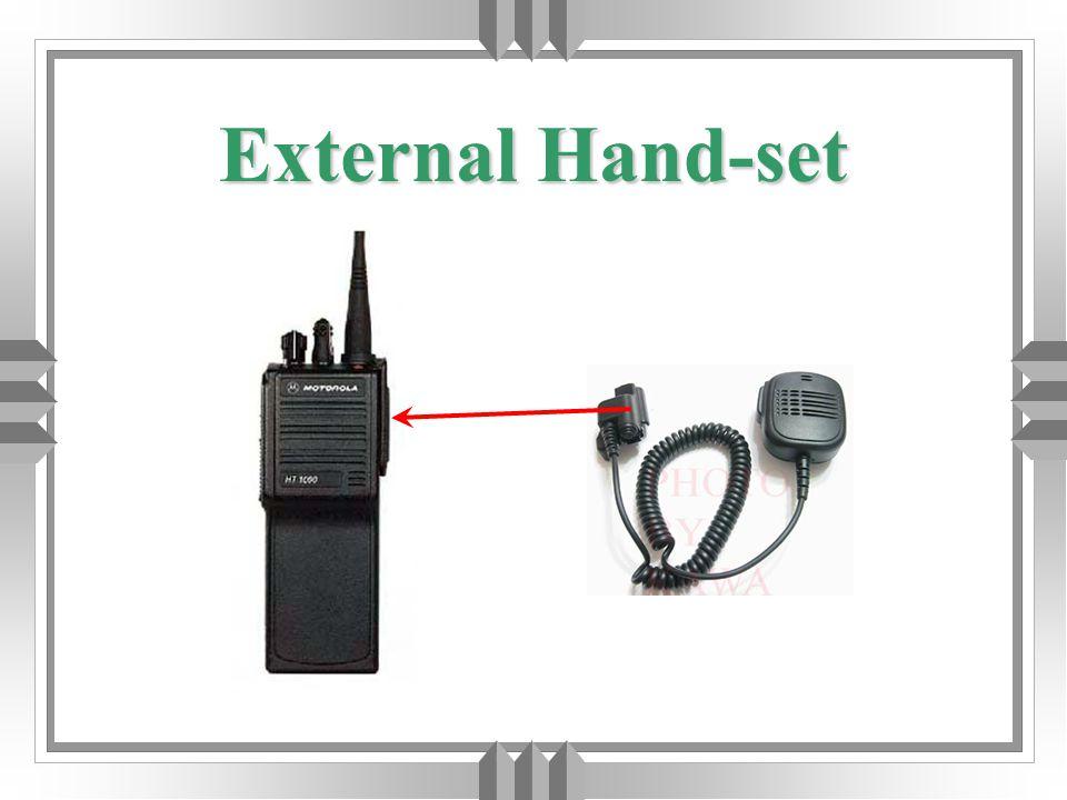 External Hand-set