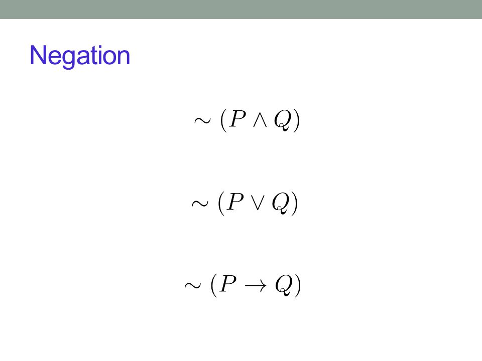 Implication Is P  Q equivalent to Q  P? A. Yes B. No PQP  QQ  P TTTT TFFT FTTF FFTT
