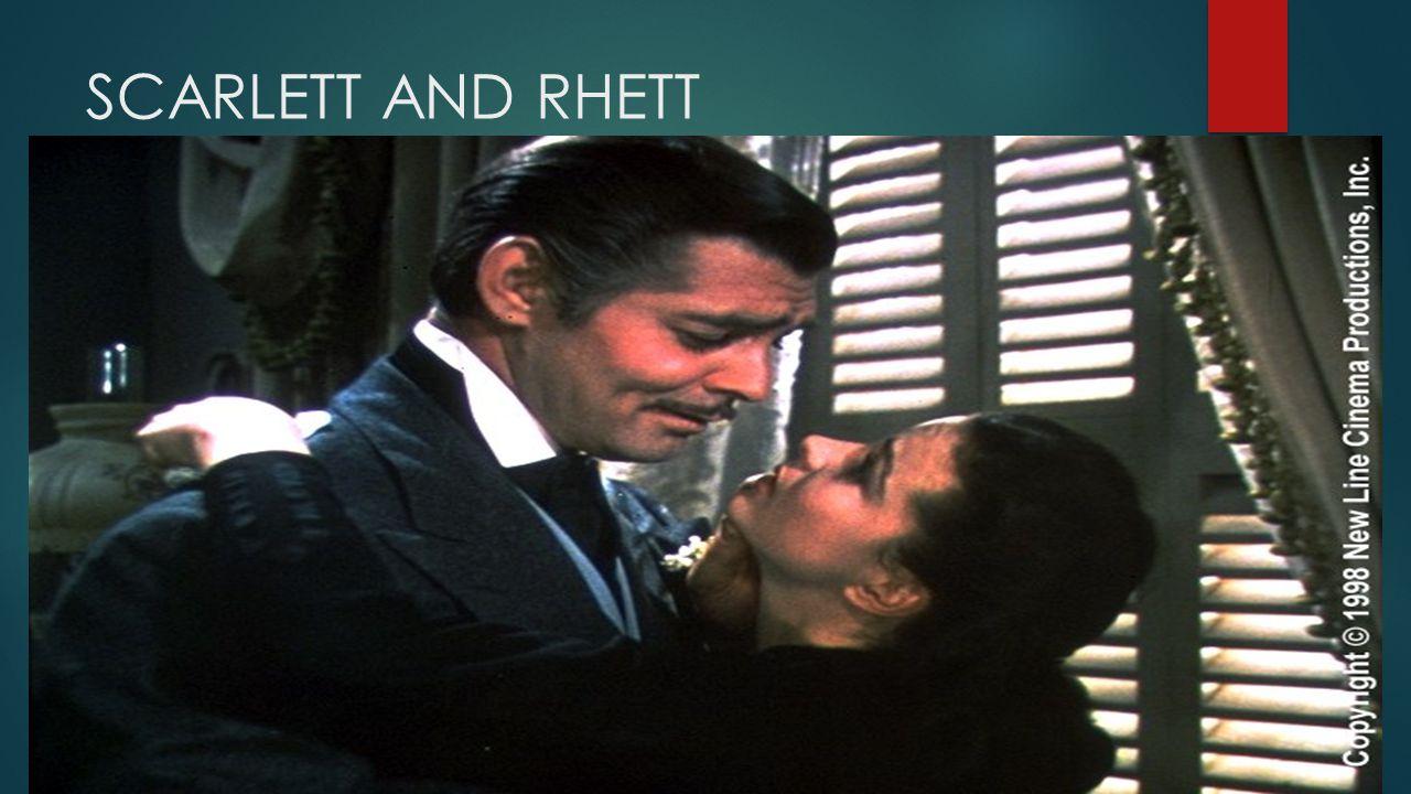 SCARLETT AND RHETT SS