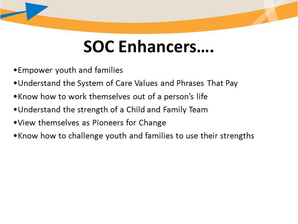 SOC Enhancers….