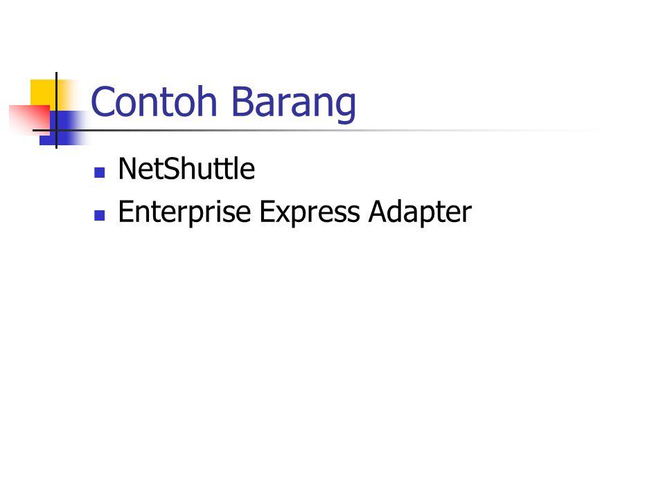 Contoh Barang NetShuttle Enterprise Express Adapter