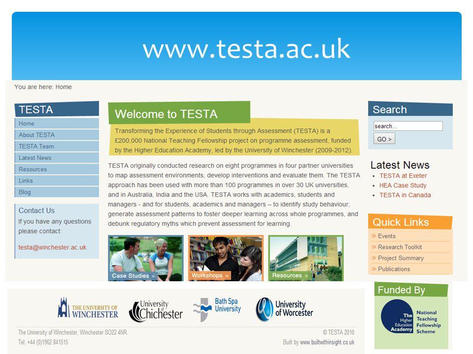 www.testa.ac.uk