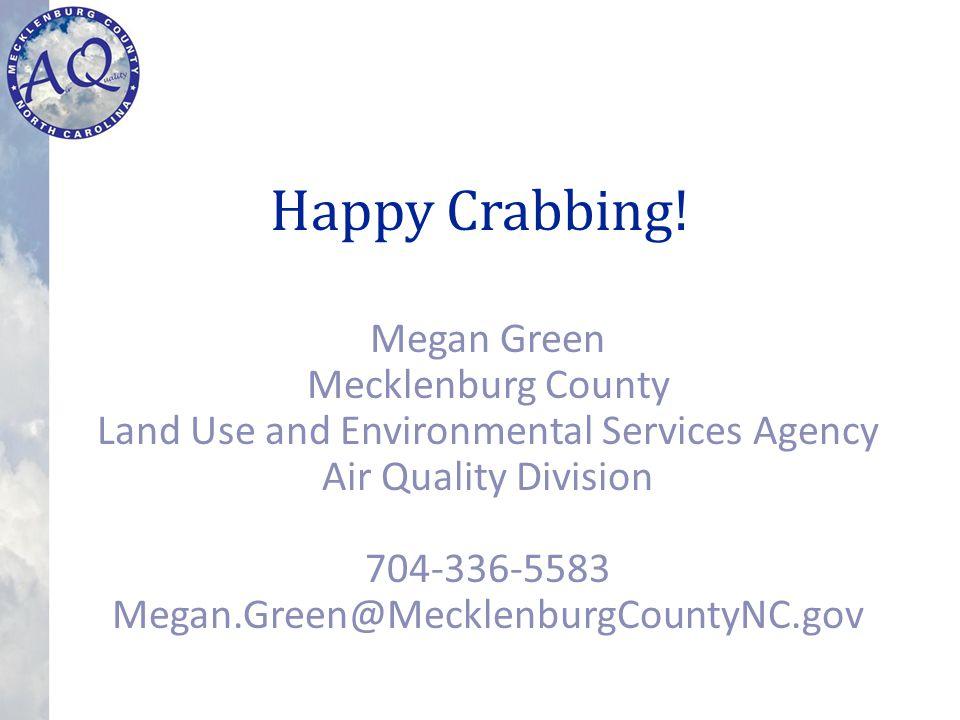 Happy Crabbing.
