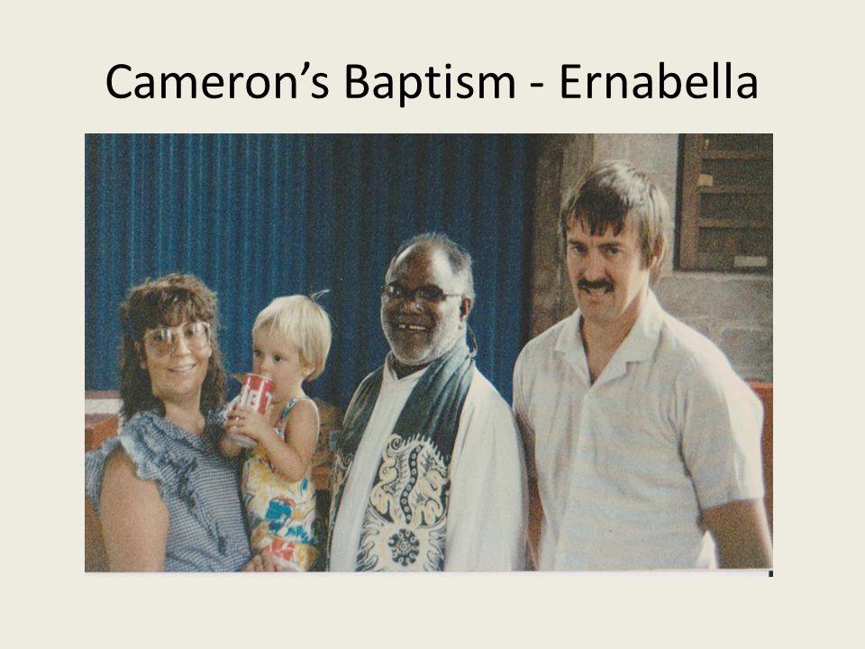 Cameron's Baptism - Ernabella