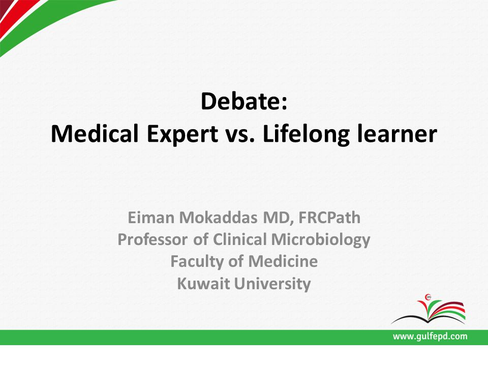 Debate: Medical Expert vs.