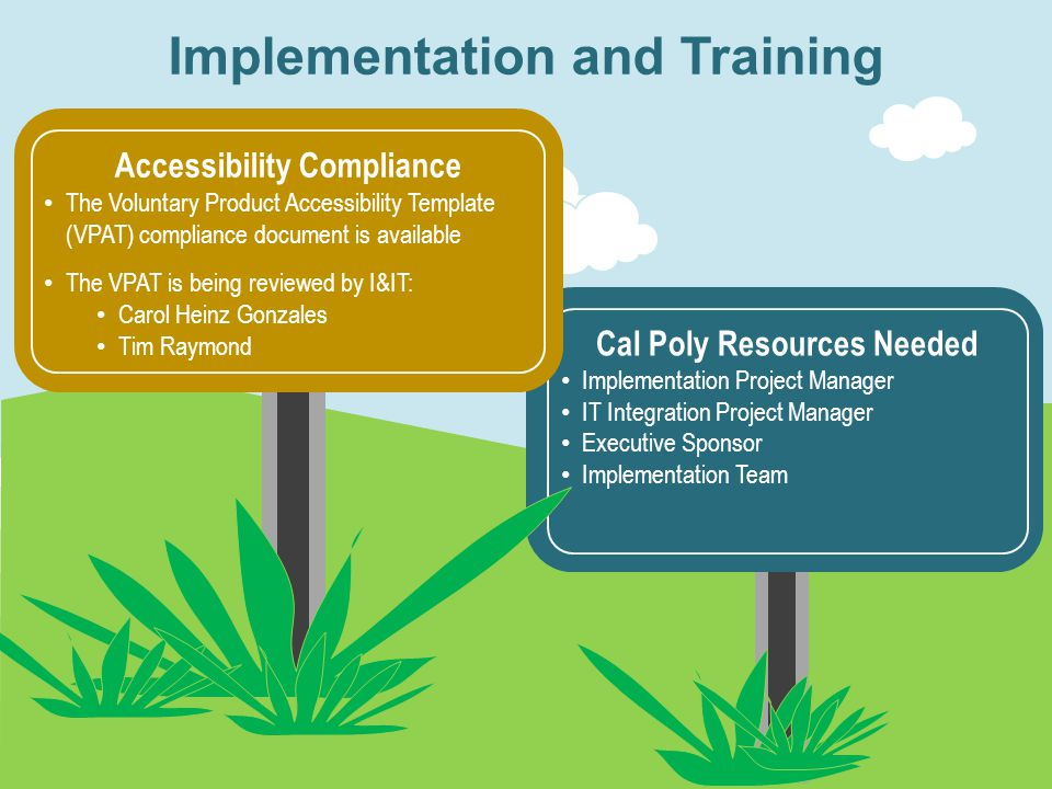 Next Steps Pre-Implementation Recommendations Committee Findings Background Purpose of the Project Research Process & Requirements Next Steps Pre-Impl
