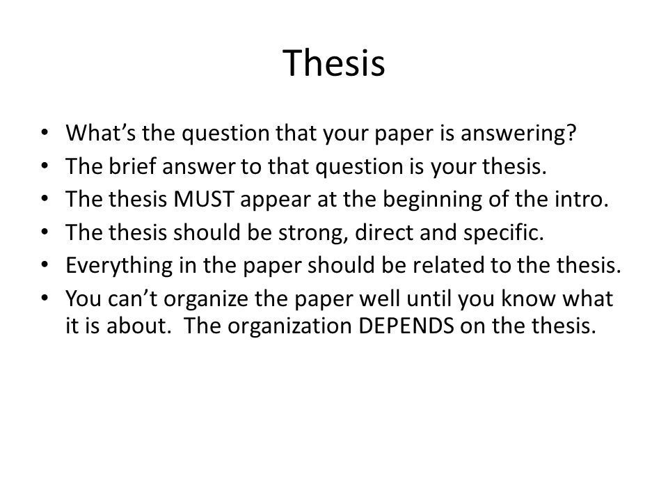 Synthesize, don't summarize The paper should synthesize information and ideas from multiple sources.