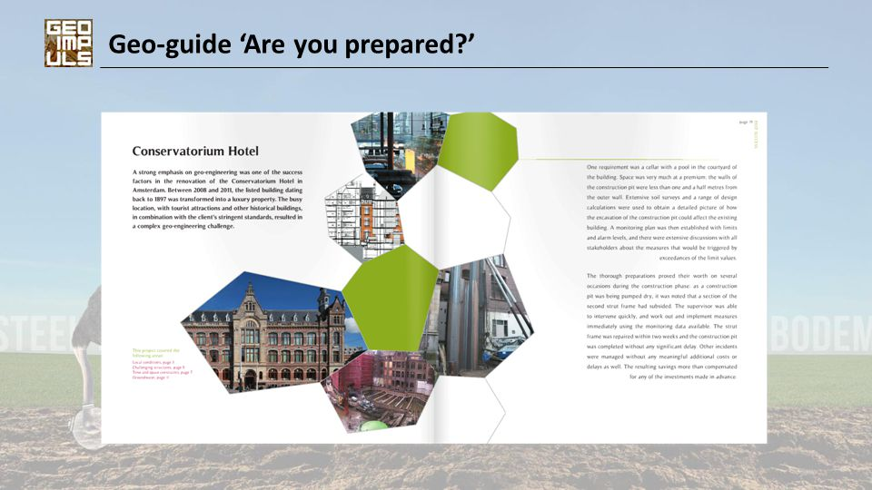 Geo-guide 'Are you prepared?'