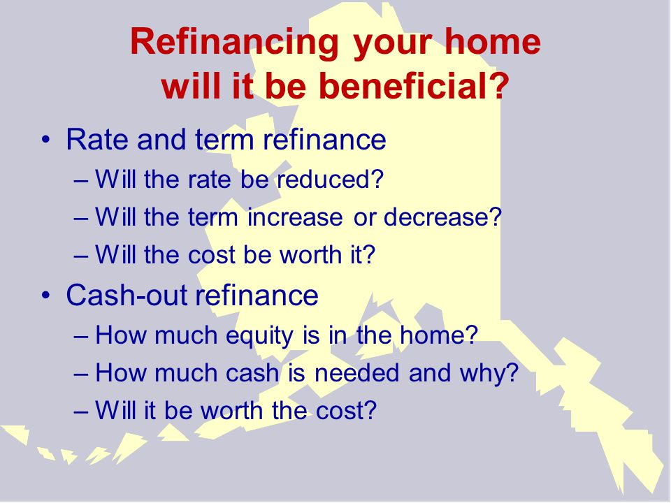 Delinquency continued Develop a crisis budget –Identify all household income –Identify all expenses –Gather information to verify ability to pay Know your options –Keeping the home –Selling the home –Be realistic