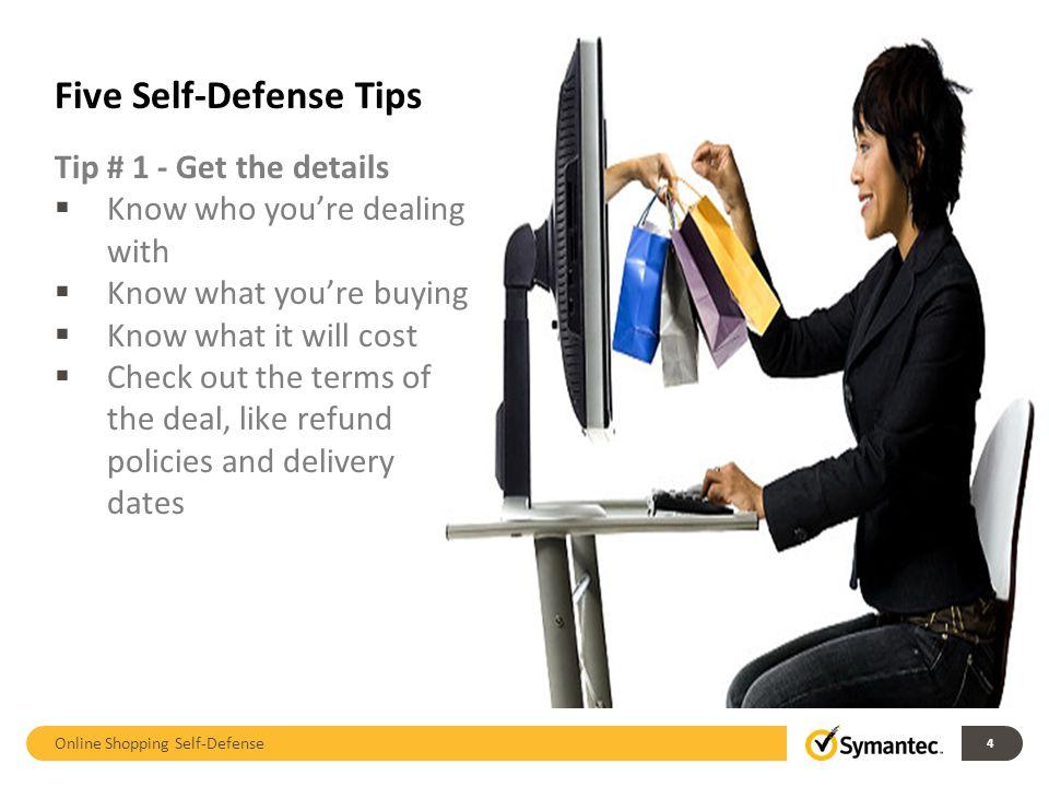 Online Shopping Self-Defense 15 Appendix