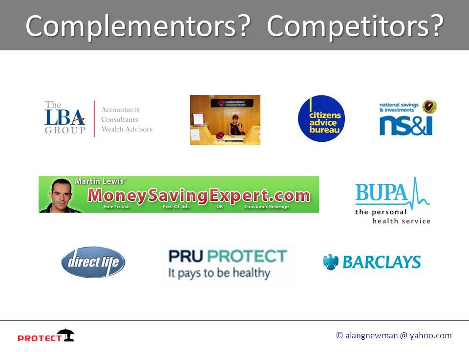 Complementors Competitors © alangnewman @ yahoo.com