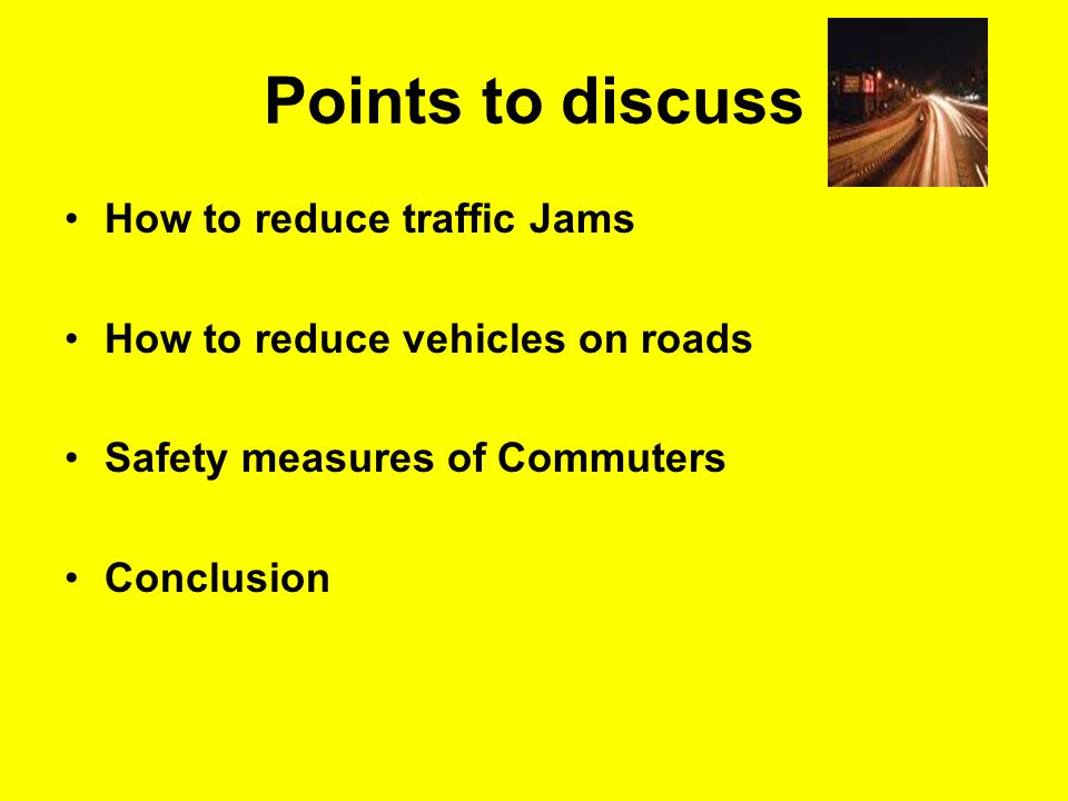 How to reduce traffic jams Lane driving Don't cross zebra lines Don't jump red lights