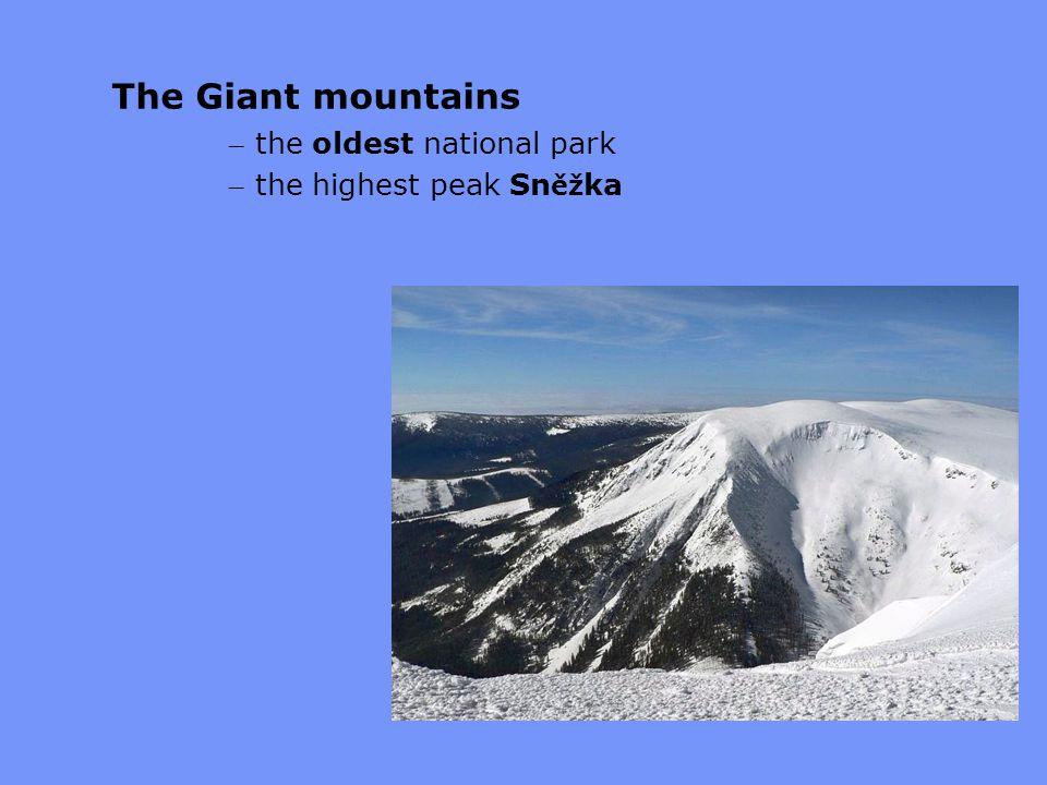 The Giant mountains – the oldest national park – the highest peak Sn ěž ka