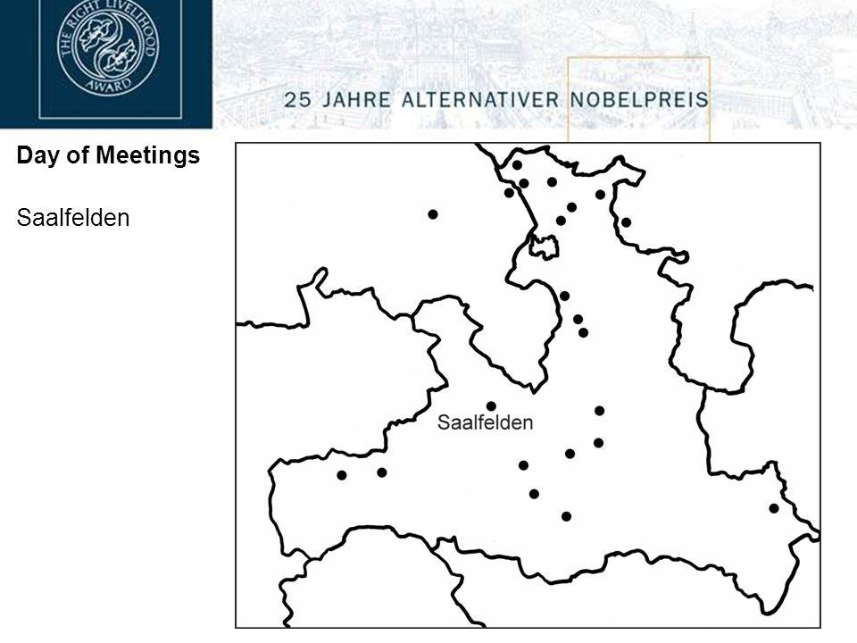 Day of Meetings Saalfelden