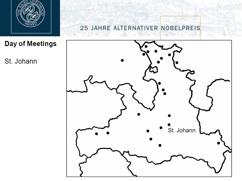 Day of Meetings St. Johann
