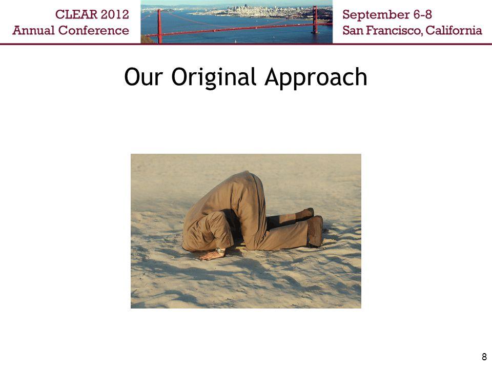 Our Original Approach 8