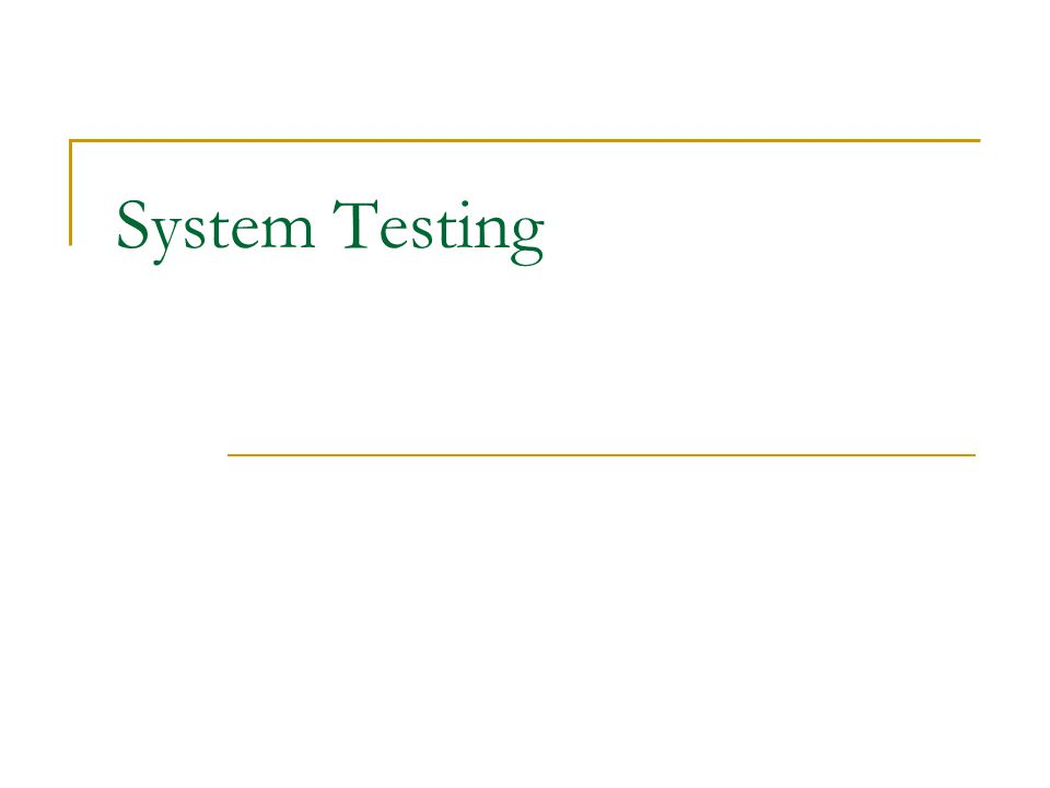 System testing is conducted on a complete, integrated system (including software and hardware) to evaluate the system s compliance with its specified requirements.