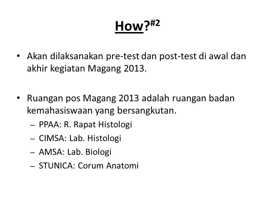 Badan rohani akan mengisi waktu Ishoma selama kegiatan Magang 2013. How? #3