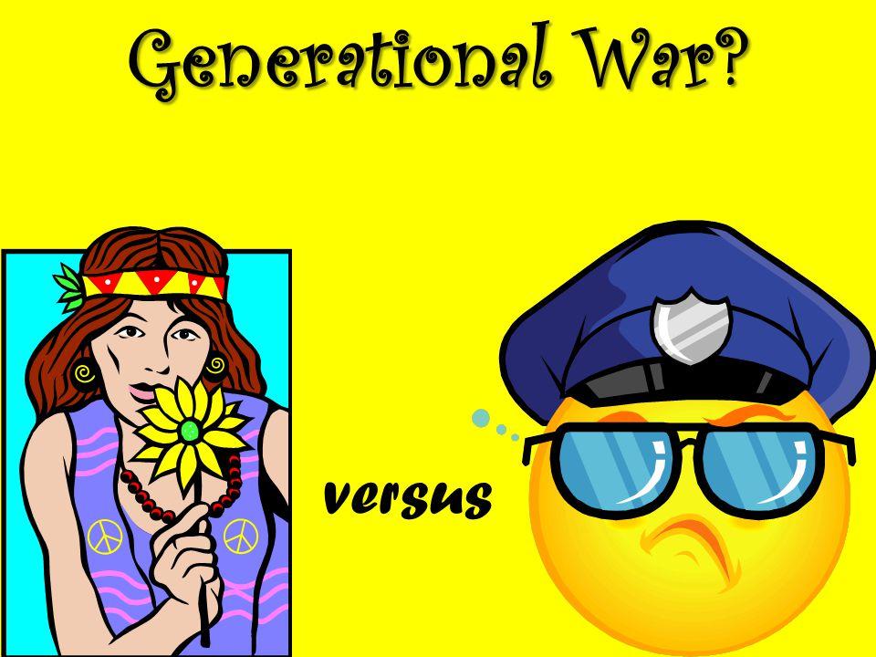 Generational War? versus
