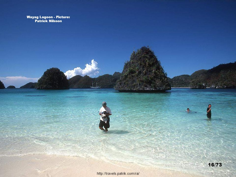 http://www.deepscape.com/raja_ampat.html Raja Ampat Islands - Picture: James Lee 15/73