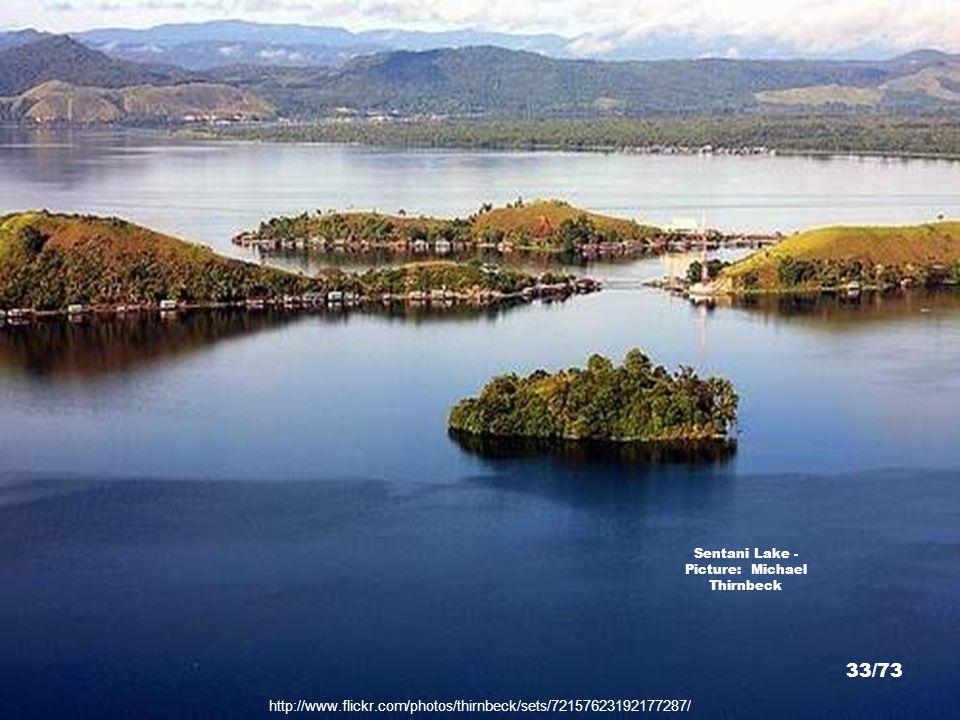 http://www.flickr.com/photos/thirnbeck/sets/72157623192177287/ Sentani Lake - Picture: Michael Thirnbeck 32/73