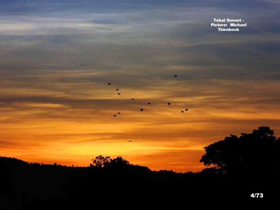 Tekai Sunset - Picture: Michael Thirnbeck 4/73