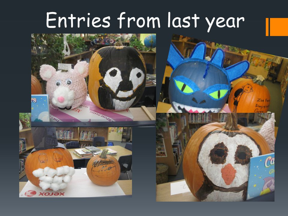 Entries from last year
