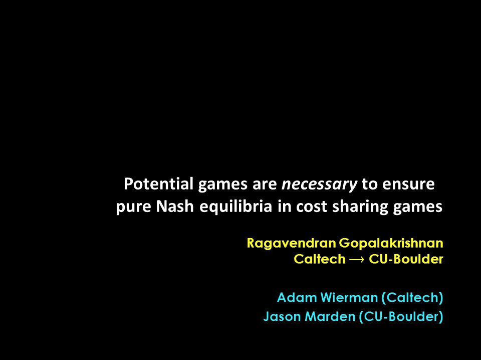Potential games are necessary to ensure pure Nash equilibria in cost sharing games