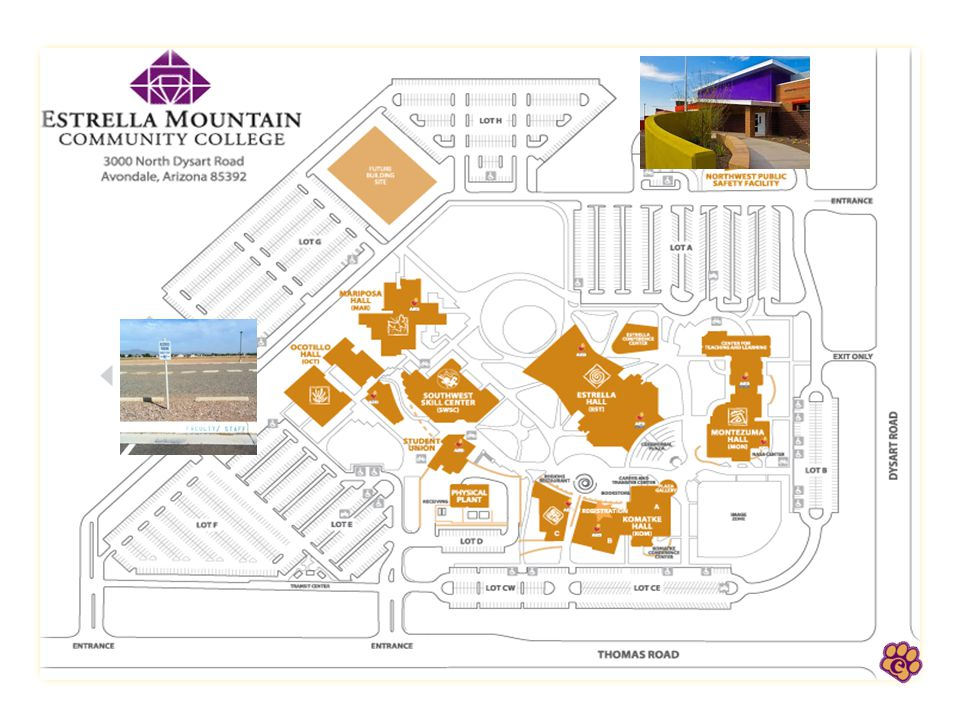 Estrella Mountain Community College - Fall 201 Name that building.