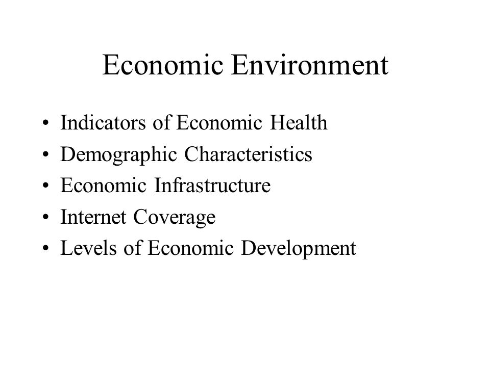 Indicators of Economic Health Gross Domestic Product (GDP) - the dollar value of goods and services a country produces within its borders within one year Gross National Product (GNP) - the value of all goods and services produced by a country's individuals or organizations whether in or out of country borders