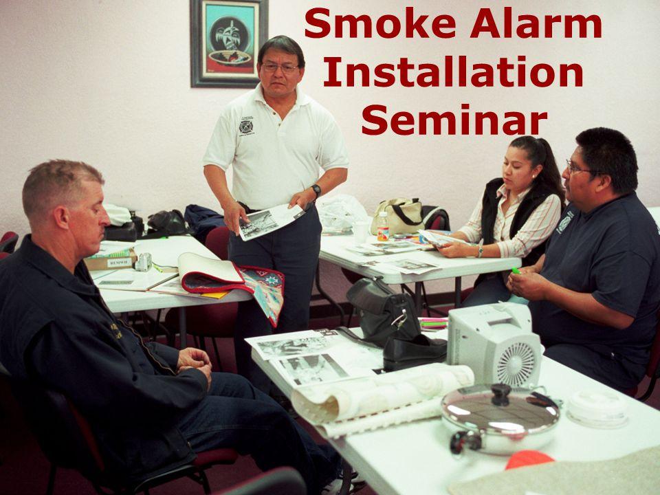 Smoke Alarm Installation Seminar